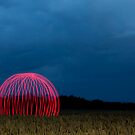 New kind of crop circle by yampy