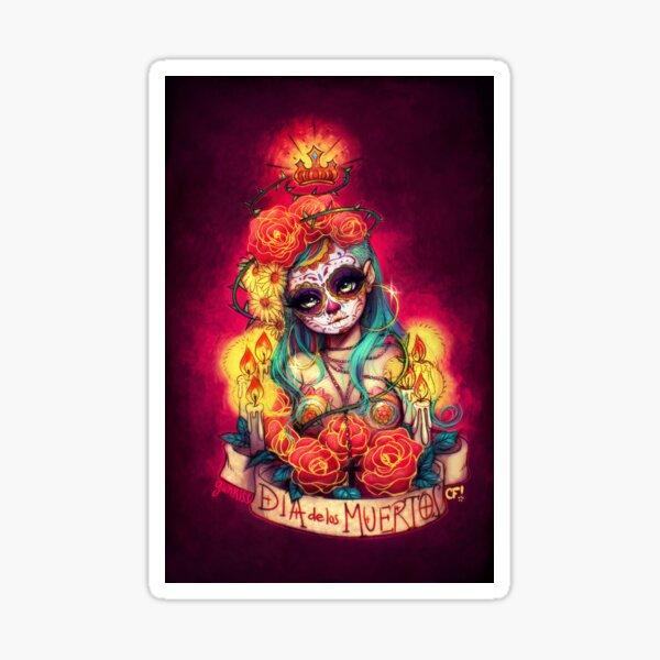 Día de los Muertos Sticker
