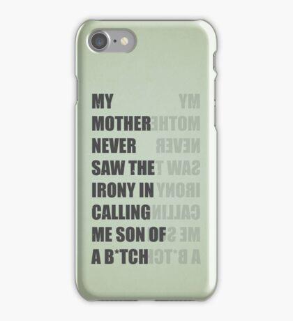 Son of a B*TCH iPhone Case/Skin