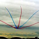 Red Arrows Split by sparxm0nkey