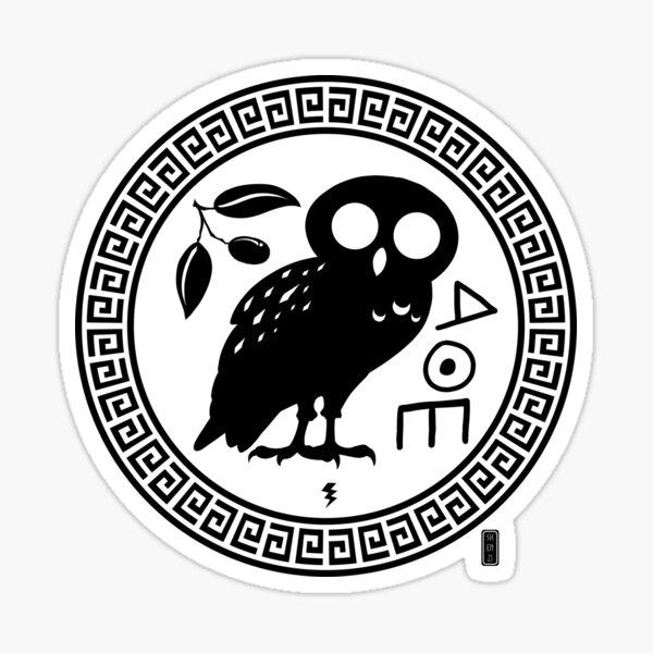 Athene Noctua Sticker