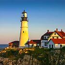 Portland Head Lighthouse, Maine, USA by Daniel H Chui