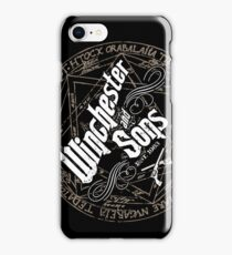Winchester & Sons (Sigil) iPhone Case/Skin
