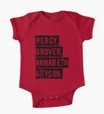 Percy, Grover, Annabeth & Tyson Kids Clothes