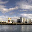 Belfast Titanic  Centre Skyline by Victoria limerick