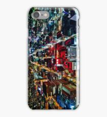 A Peaceful City - Sapporo , Japan ( with Billboard )  iPhone Case/Skin
