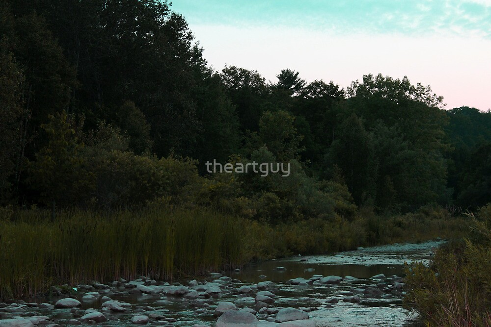 Simple Landscape by theartguy