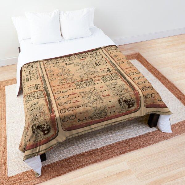 MAYA. MAYAN. Dresden Codex, Circa 11th or 12th century. Comforter