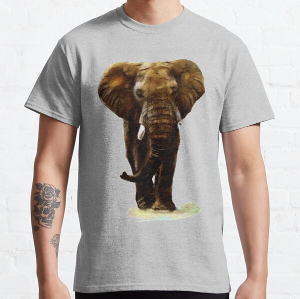 Save Elephant Tusks T-Shirt Animals Nature Wildlife Wild Life Savannah P168