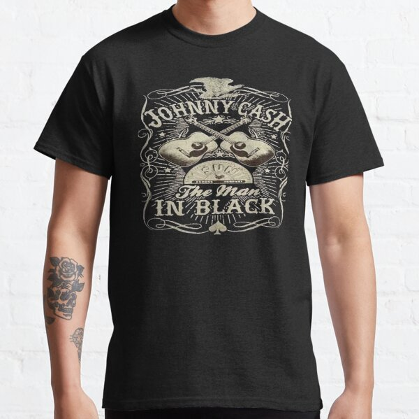 Johnny Cash - The Man In Black Classic T-Shirt