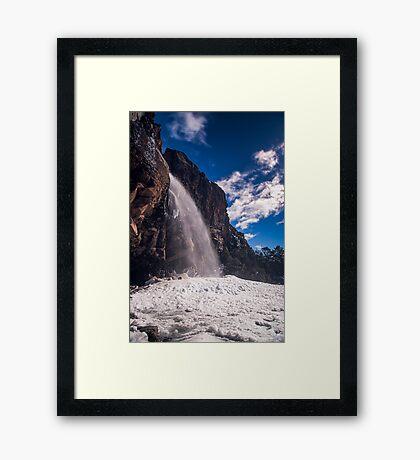 Taranaki Falls Framed Print
