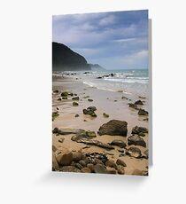 Beach at Wye River Greeting Card