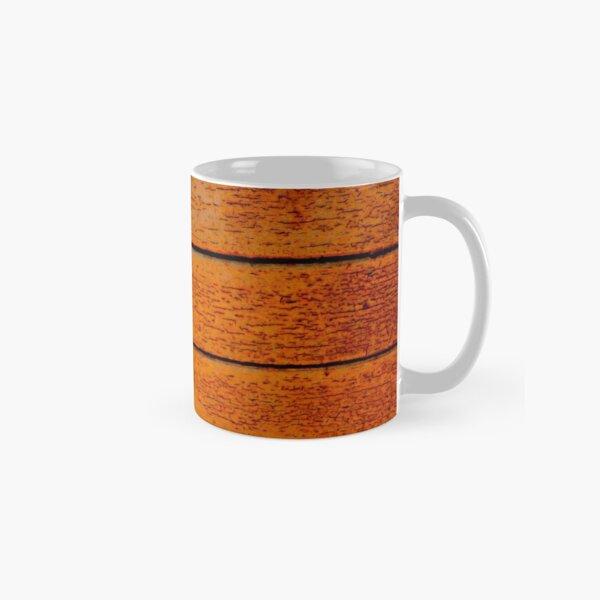 Rustic weathered wood texture bright Classic Mug