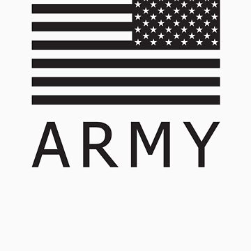 Soldier's Arm US Flag - Army by shirtsapalooza