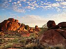 Devils Marbles Sunset by Alex Fricke