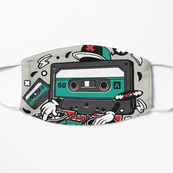Dj Cassette Old School Masque sans plis