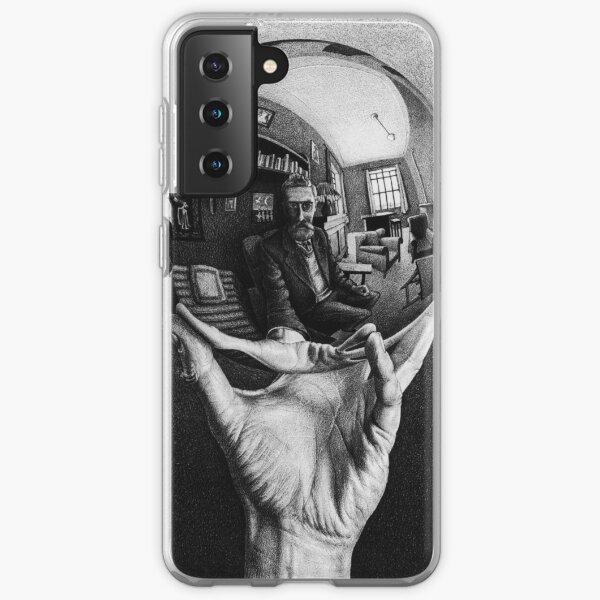 M.C. Escher - Hand with Reflecting Sphere Samsung Galaxy Soft Case