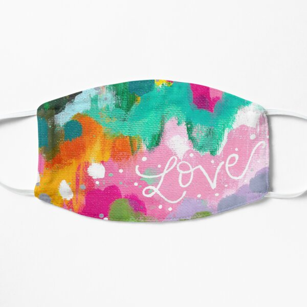 Love Abstract Mask