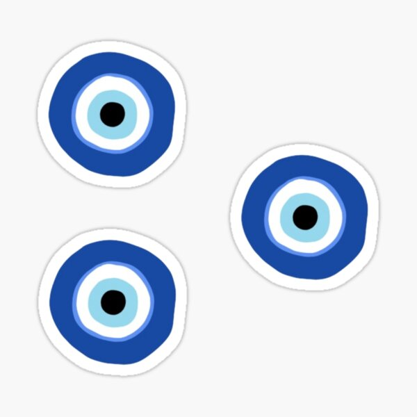Evil eye pack Sticker