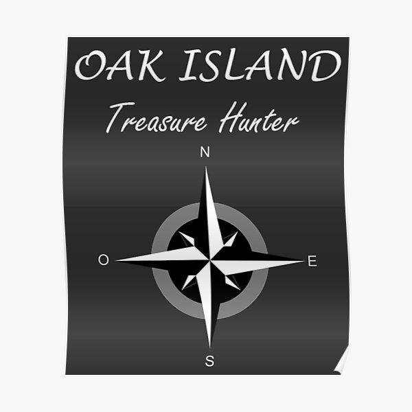 Oak Island Treasure Hunter Knights Templar Mystery Nova Scotia Poster