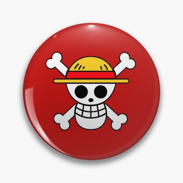 One piece skull Pin