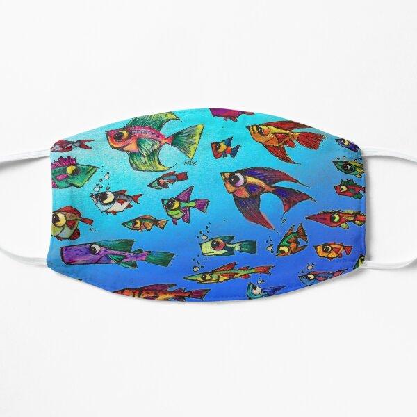 Tropical Fish Flat Mask