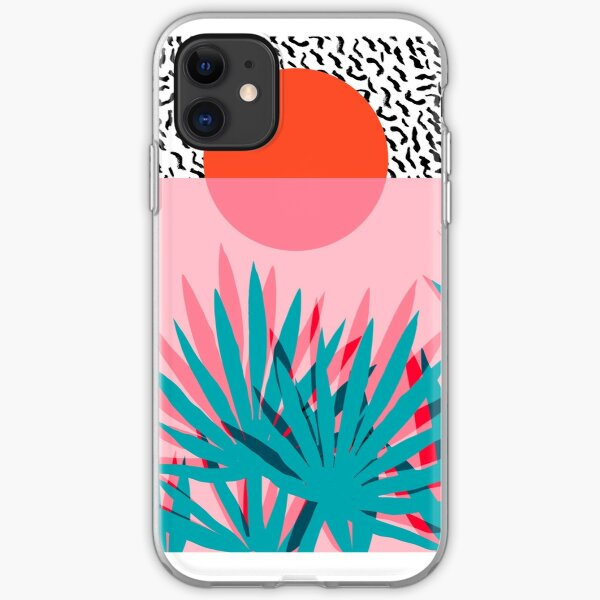 Whoa - palm sunrise southwest california palm beach sun city los angeles hawaii palm springs resort decor iPhone Soft Case