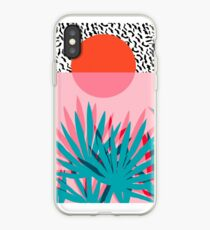 Whoa - palm sunrise southwest california palm beach sun city los angeles hawaii palm springs resort decor iPhone Case