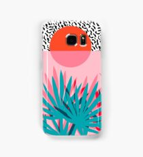 Whoa - palm sunrise southwest california palm beach sun city los angeles hawaii palm springs resort decor Samsung Galaxy Case/Skin