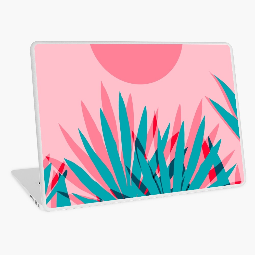 Whoa - palm sunrise southwest california palm beach sun city los angeles hawaii palm springs resort decor Laptop Skin