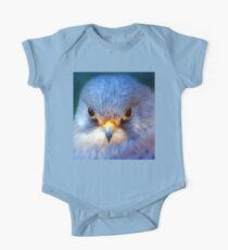 Blue Bird- Baby Wear One Piece - Short Sleeve