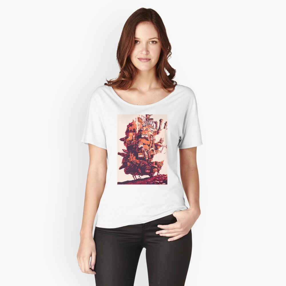 Howl's Moving Castle Women's Relaxed Fit T-Shirt Front