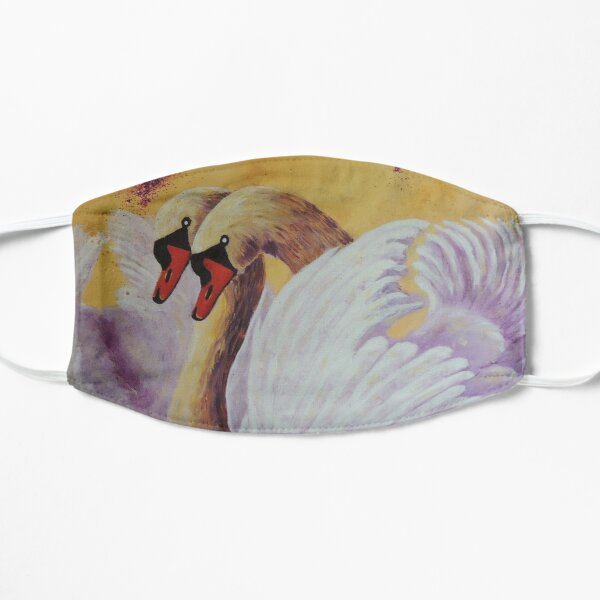 Cygnes D'Amour | Swans of Love Masque taille M/L