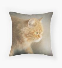The Ginger Hunter Throw Pillow