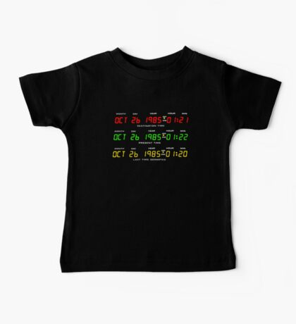 Time Circuits Kids Clothes