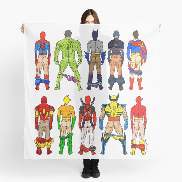 Superhero Butts Scarf
