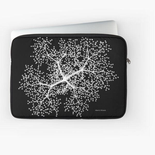 Floral Radiograph - Elderberry Laptop Sleeve
