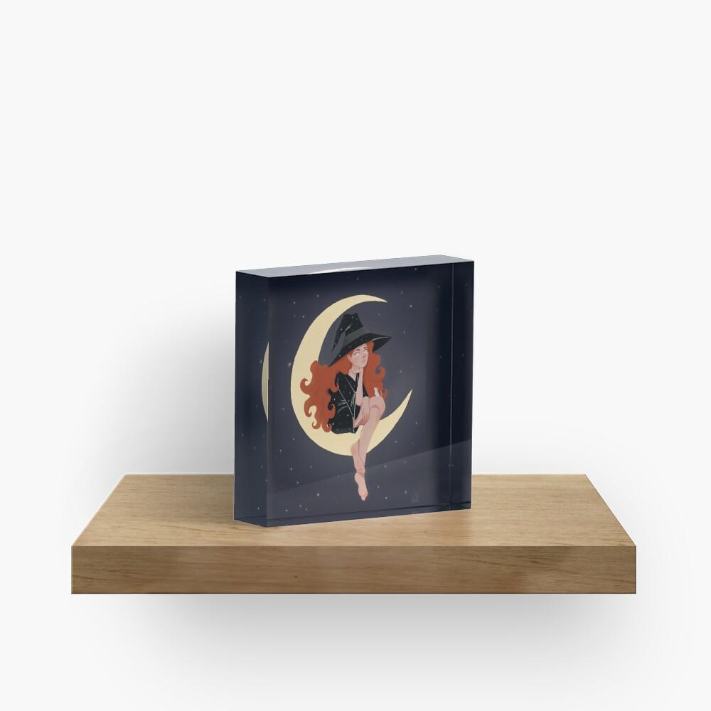 Moon Acrylic Block