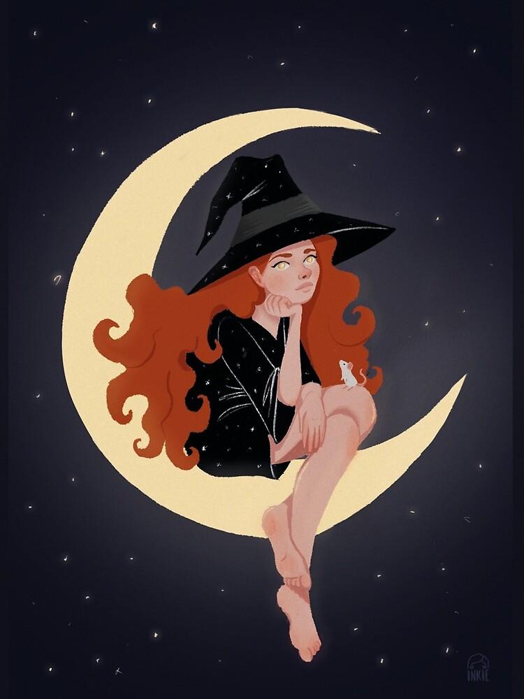 Moon by inkiestuff