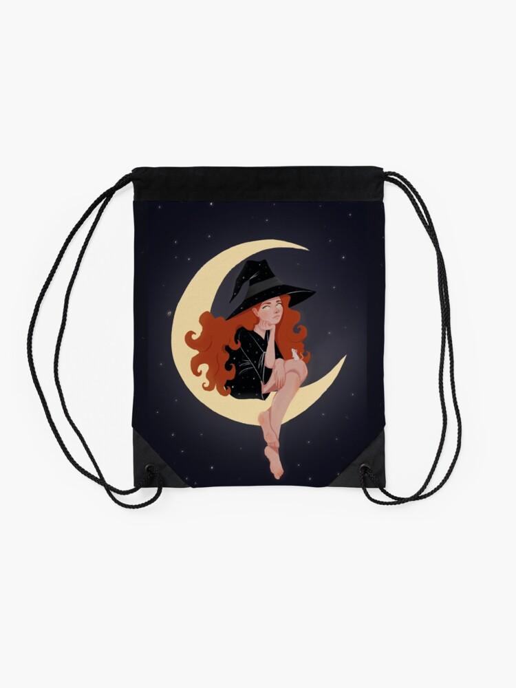 Alternate view of Moon Drawstring Bag