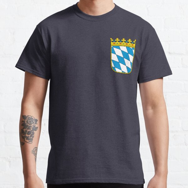 Coat of Arms of Bavaria (minor coat of arms) Classic T-Shirt