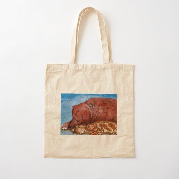 Mac and Meggsie: orange harmony Cotton Tote Bag