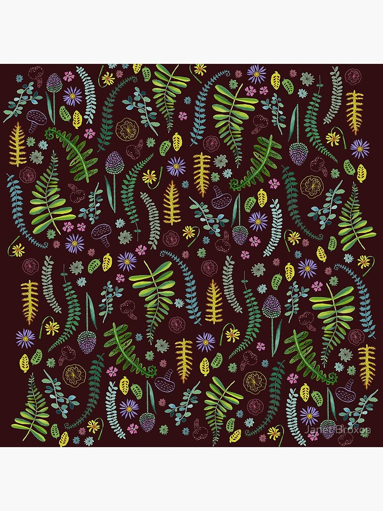 Dark and Wild Ferns by jbroxon