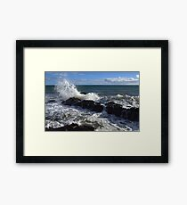 Reef at Hallett Cove Framed Print