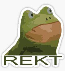 REKT FROG FROGOUT M9 Sticker