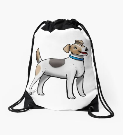 Jack Russell Terrier Drawstring Bag