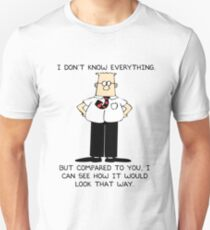 Dilbert I Don't Know Everything Unisex T-Shirt