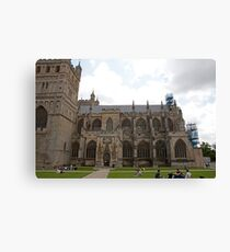 Exeter Cathedral, Exeter, Devon. Canvas Print
