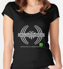 Deliverance 2012 22 light merkaba - thedeliveranch.net Women's Fitted Scoop T-Shirt