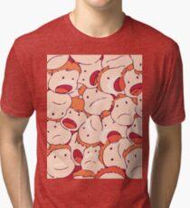 Ponyo's Sisters Tri-blend T-Shirt
